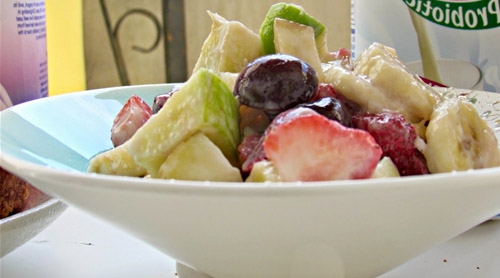 Kefir z owocami